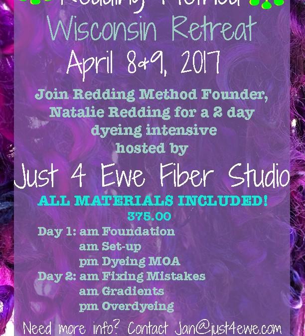 Wisconsin 2 Day Dyeing Workshop!